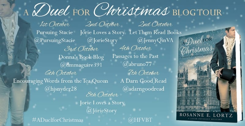 A Duel for Christmas blog tour via HFVBTs