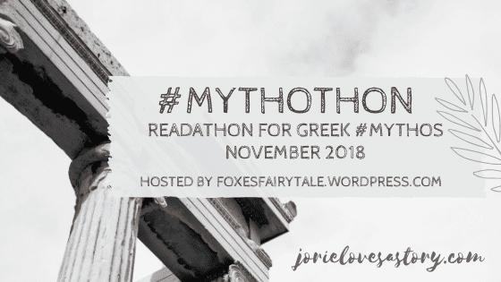 #Mythothon banner created by Jorie in Canva. Photo Credit: Photo Credit: Unsplash Public Domain Photographer Cristina Gottardi