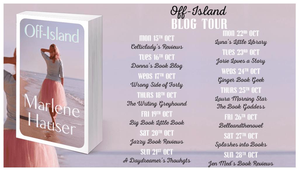 Off Island blog tour via Faye Rogers PR