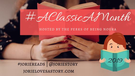 #ClassicAMonth challenge banner created by Jorie in Canva.