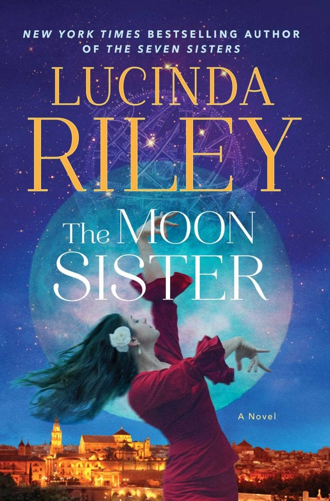 "#SaturdaysAreBookish | ""The Moon Sister"" (Book No. 5 of the Seven Sisters series) by Lucinda Riley"