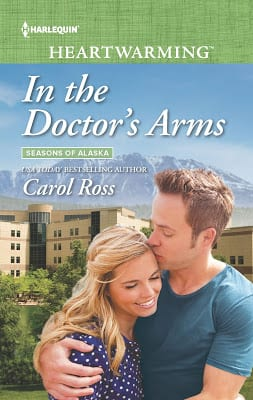 "6th #Blogoversary celebrating  #Harlequin Heartwarming | Series Book Review feat. ""Bachelor Remedy"" and ""In the Doctor's Arms"" (Book Five & Six: Seasons of Alaska) by Carol Ross Otherwise known as the small towne romance series Jorie has wickedly found #unputdownable! So much so, she nudged her Mum to read it!"