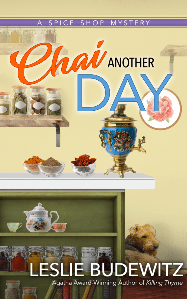 "#PubDay Book Review | ""Chai Another Day"" (Book Four: The Spice Shop Mysteries) by Leslie Budewitz a cosy mystery series by one of my favourite crime publishers Seventh Street Books!"