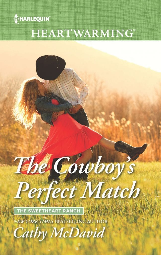 "Blog Book Tour | ""The Cowboy's Perfect Match"" (Book Two: The Sweetheart Ranch) by Cathy McDavid a Contemporary Romance series by #Harlequin Heartwarming"
