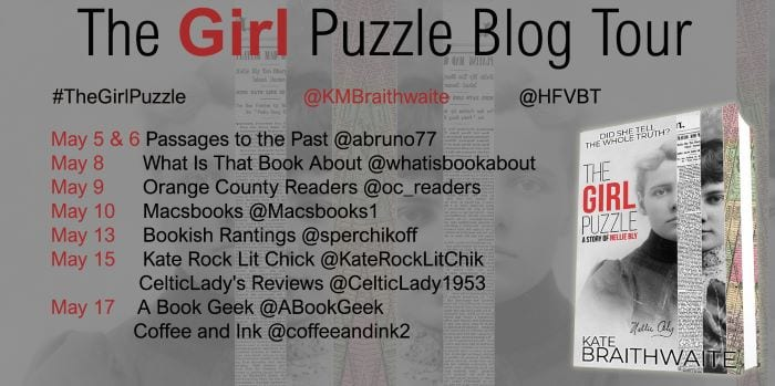 The Girl Puzzle blog tour via HFVBTs
