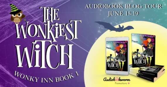 The Wonkiest Witch audiobook blog tour via Audiobookworm Promotions