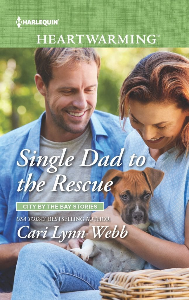 "#Harlequin Heartwarming Book Review | ""Single Dad to the Rescue"" (City by the Bay Stories, Book Four) by Cari Lynn Webb"