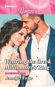 Wearing the Greek Millionaire's Ring by Jennifer Faye