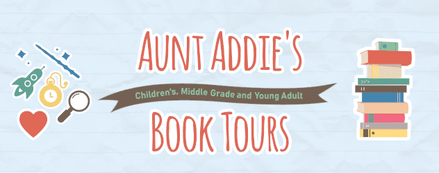 Aunt Addie's Book Tours banner provided by Aunt Addie's Book Tours.