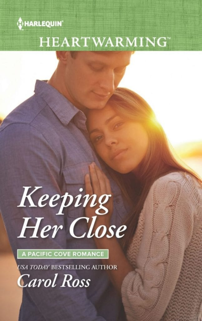 "#SaturdaysAreBookish Book Review | feat. a #HarlequinHeartwarming novel: ""Keeping Her Close"" (Pacific Cove Romance, Book One) by Carol Ross"