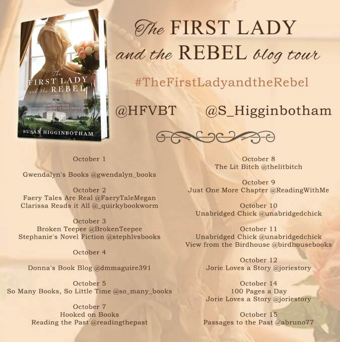 The First Lady and the Rebel blog tour via HFVBTs