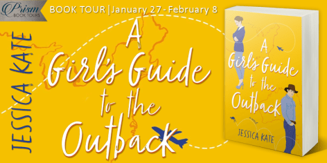 A Girl's Guide to the Outback blog tour banner provided by Prism Book Tours and is used with permission.