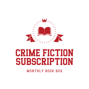Crime Fiction Subscription Box logo badge provided by Crime Fiction Subscription Box and is used with permission.