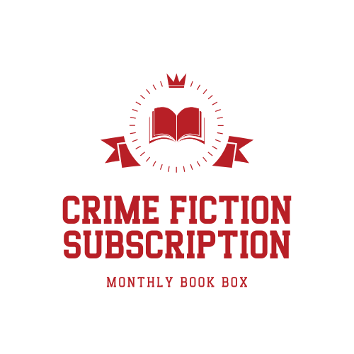 Crime Fiction Subscription Box logo badge provided by Crime Fiction Subscription Box and is used with permission.