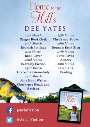 Home to the Hills blog tour banner provided by Head of Zeus and is used with permission.