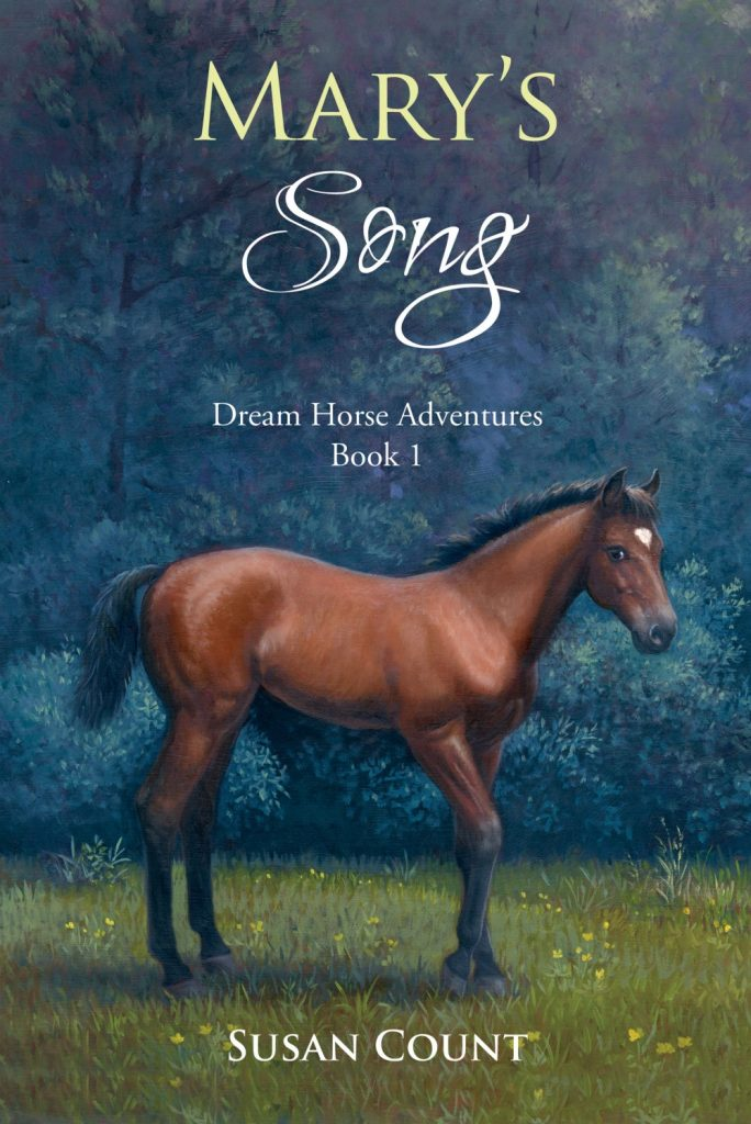 "#MiddleGradeMarch Audiobook Review | ""Mary's Song"" (Book One: the Dream Horse Adventures series) by Susan Count, narrated by Caitlin Cavannaugh"