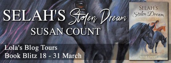 Selah's Stolen Dream banner provided by Lola's Book Tours and is used with permission.
