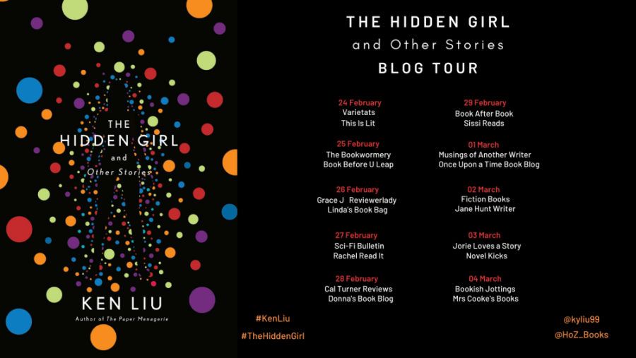 The Hidden Girl blog tour banner was provided by Midas PR and is used with permission.