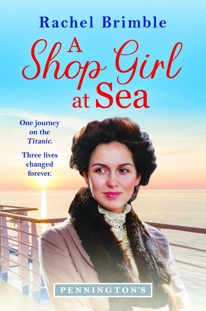 "Book Spotlight | Featuring notes by Jorie and an extract from ""A Shop Girl at Sea"" by Rachel Brimble"