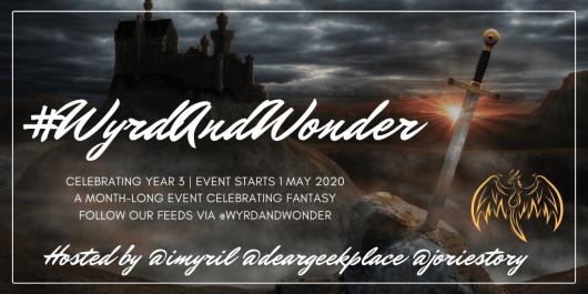 #WyrdAndWonder 2020 event banner created by Jorie in Canva.