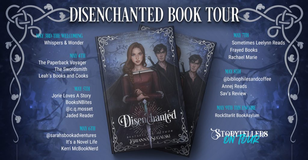 Disenchanted blog tour banner provided by Storytellers on Tour and is used with permission.