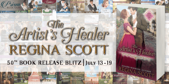 The Artist Healer Book Blitz banner provided by Prism Book Tours and is used with permission.