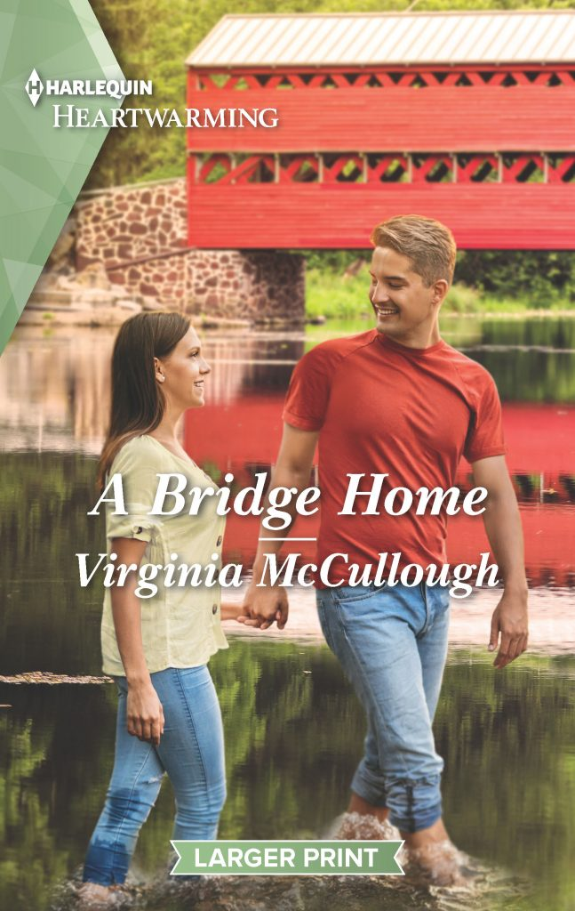 "#RomanceTuesdays | feat. #HarlequinHeartwarming author Virginia McCullough's ""A Bridge Home"" (Back to Bluestone River series, Book Three)"