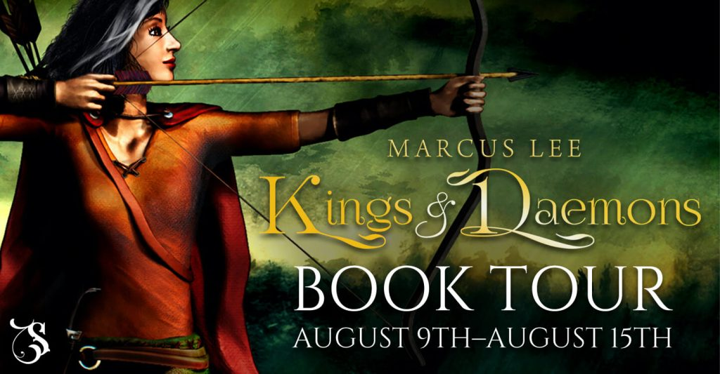 Kings and Daemons blog tour banner provided by Storytellers on Tour and is used with permission.