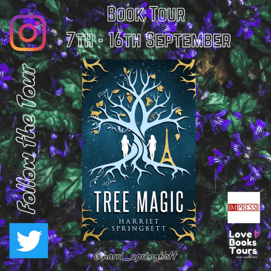Tree Magic promo badge provided by Love Books Tours and is used with permission.