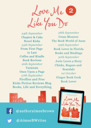 Love Me Like You Do blog tour banner provided by Head of Zeus and is used with permission.