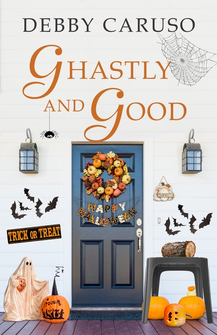 "A #SpooktasticReads Book Review | ""Ghastly and Good"" (Merry Hanukkah series, Halloween short) by Debby Caruso"