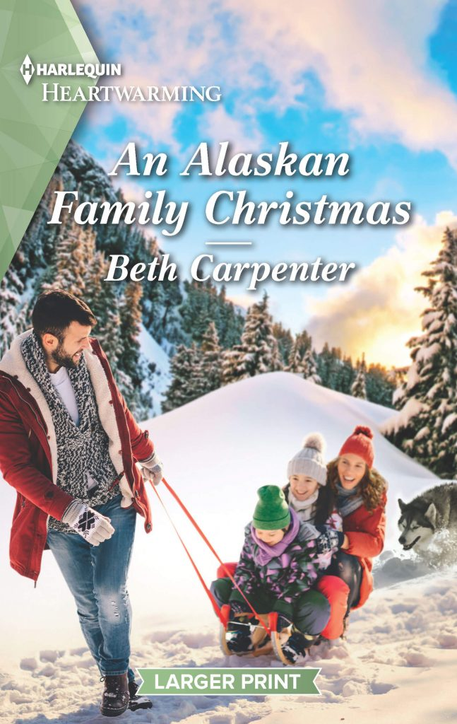 "An early #blogmas #HarlequinHeartwarming Book Review | ""An Alaskan Family Christmas"" (Northern Lights: Book Seven) by Beth Carpenter"