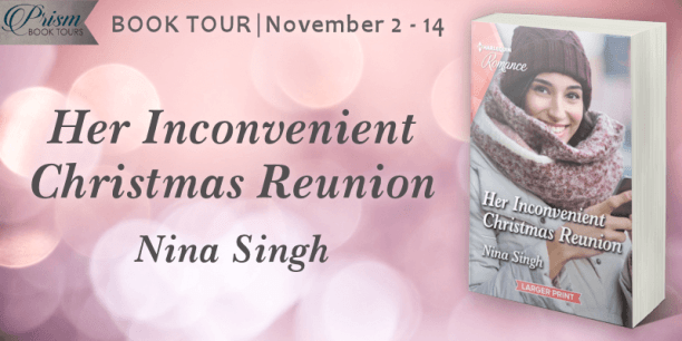 Her Inconvenient Christmas blog tour banner provided by Prism Book Tours and is used with permission.