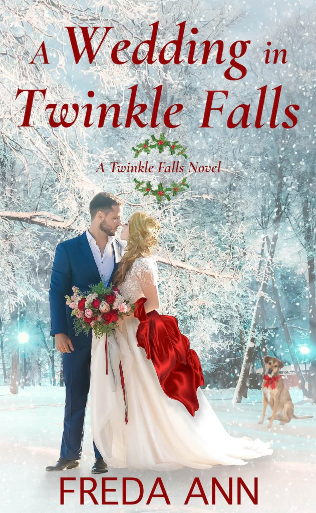 "#Blogmas Book Spotlight | ""A Wedding Night in Twinkle Falls"" (Twinkle Falls series, Book Two) by Freda Ann"
