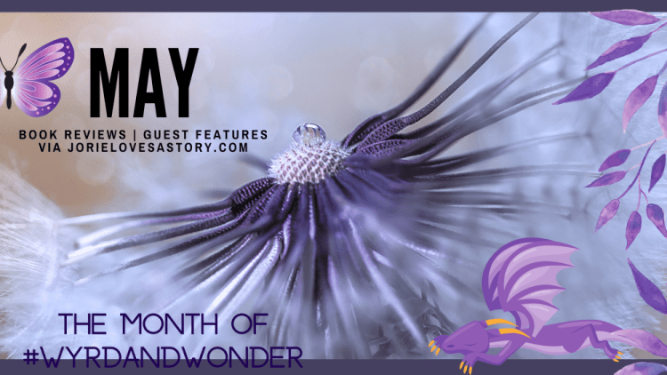 May Blog Calendar banner created by Jorie in Canva.