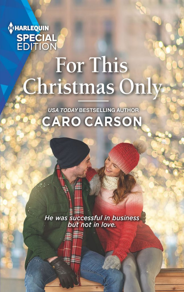 "#Blogmas Book Spotlight | ""For This Christmas Only"" (Masterson, Texas, Book Three) by Caro Carson"