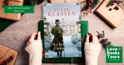 An Ivy Hill Christmas blog tour banner provided by Love Books Tours and is used with permission.