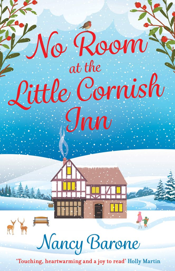 "Happy #blogmas, Author Q&A | ""No Room at the Little Cornish Inn"" by Nancy Barone"