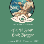 End of the Year [2020] badge created by Jorie in Canva. Jorie Loves A Story badge created by Ravven and used with permission.
