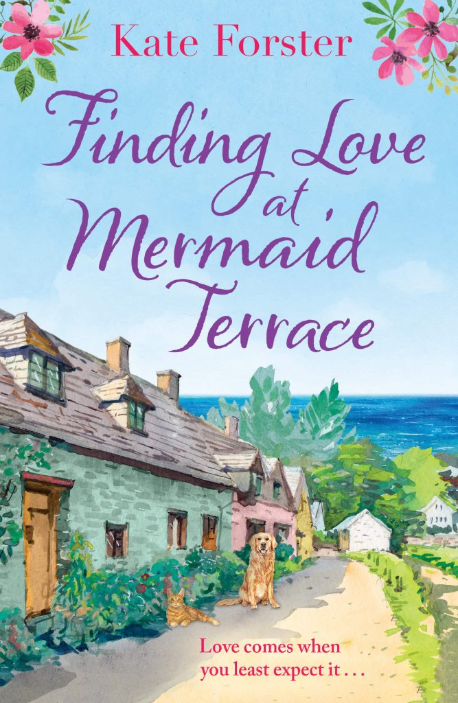 "An Author Q&A with an Extract | ""Finding Love at Mermaid Terrace"" by Kate Forster"