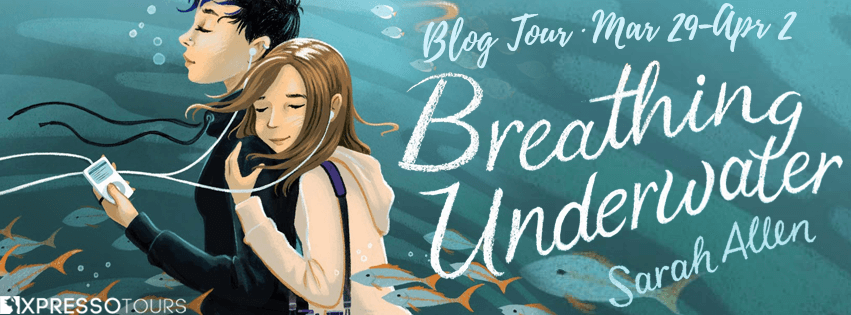 Breathing Underwater blog tour banner provided by Xpresso Book Tours and is used with permission.