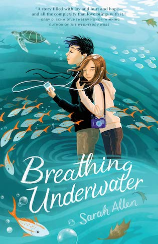 "A #PubDay Stories in the Spotlight | [the stories on Jorie's readerly radar] feat. notes and an extract of ""Breathing Underwater"" by Sarah Allen"