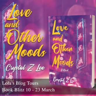 Love and Other Moods blog tour banner provided by Lola's Blog Tours and is used with permission.
