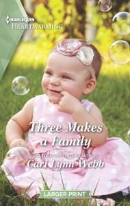Three Makes A Family by Cari Lynn Webb