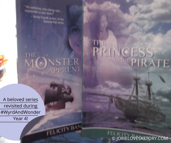 The Princess and the Pirate collage created by Jorie in Canva. Photo Credit: jorielovesastory.com