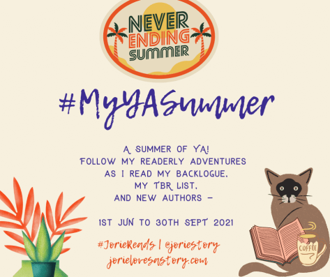 #MyYASummer badge created by Jorie in Canva.