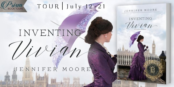 Inventing Vivian blog tour banner provided by Prism Book Tours and is used with permission.