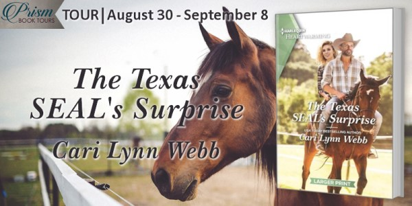 The Texas SEAL's Surprise tour banner provided by Prism Book Tours and is used with permission.