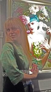 Winning Artist Poses as Her Model