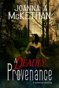 updated cover of A Deadly Provenance, set in southern Germany